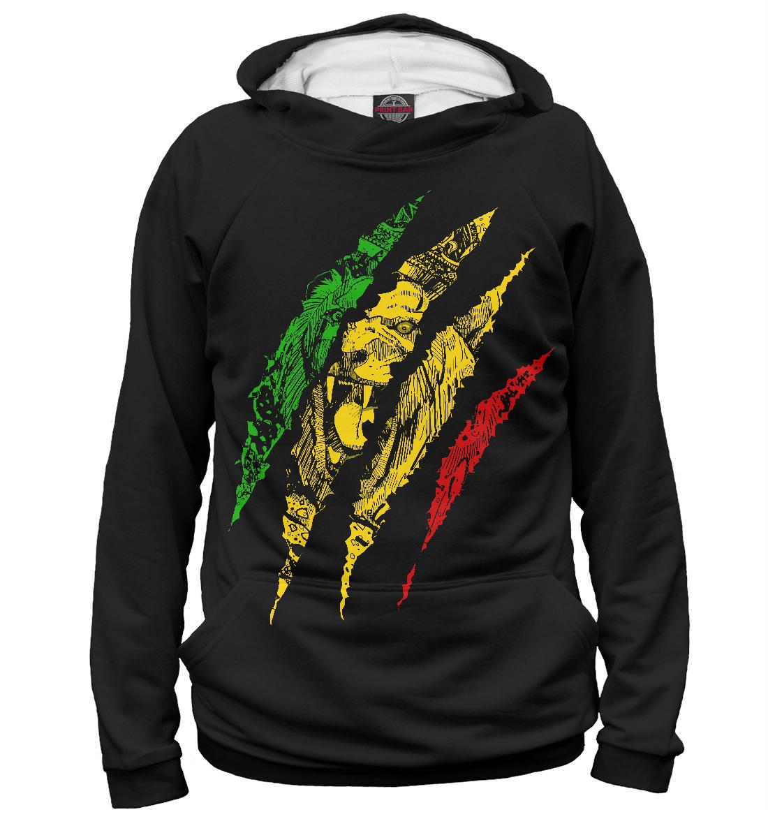 Купить Jamaica Lion, Printbar, Худи, HIS-240342-hud-2
