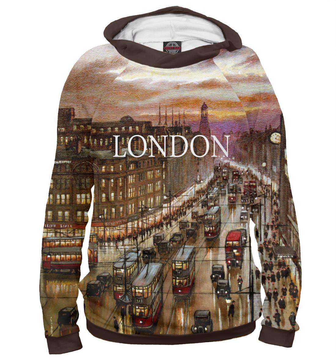 Купить Старый Лондон, Printbar, Худи, GRB-903560-hud-1