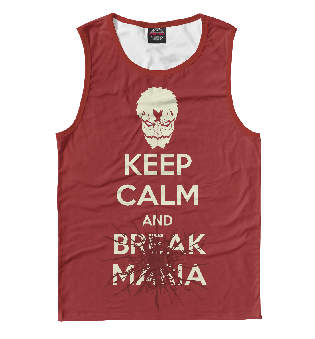 Купить Keep Calm And Break Maria, Printbar, Майки, AOT-433411-may-2