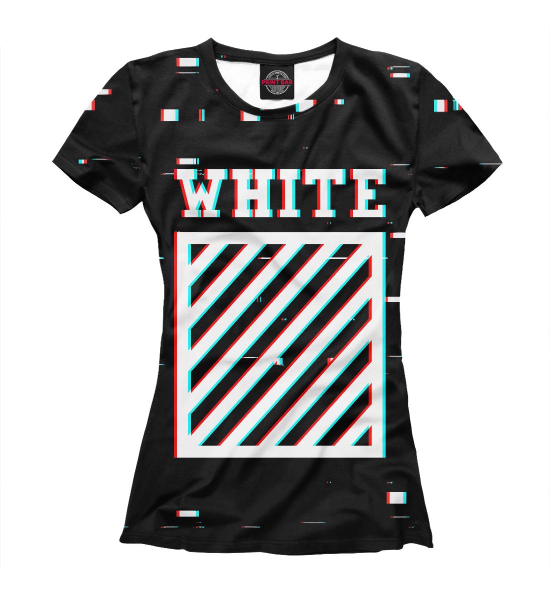 Купить Off-White Glitch, Printbar, Футболки, APD-369503-fut-1
