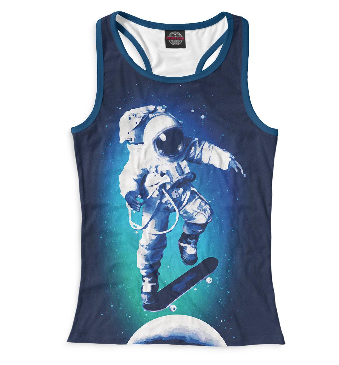 Купить Космонавт-скейтер, Printbar, Майки борцовки, SKT-954816-mayb-1