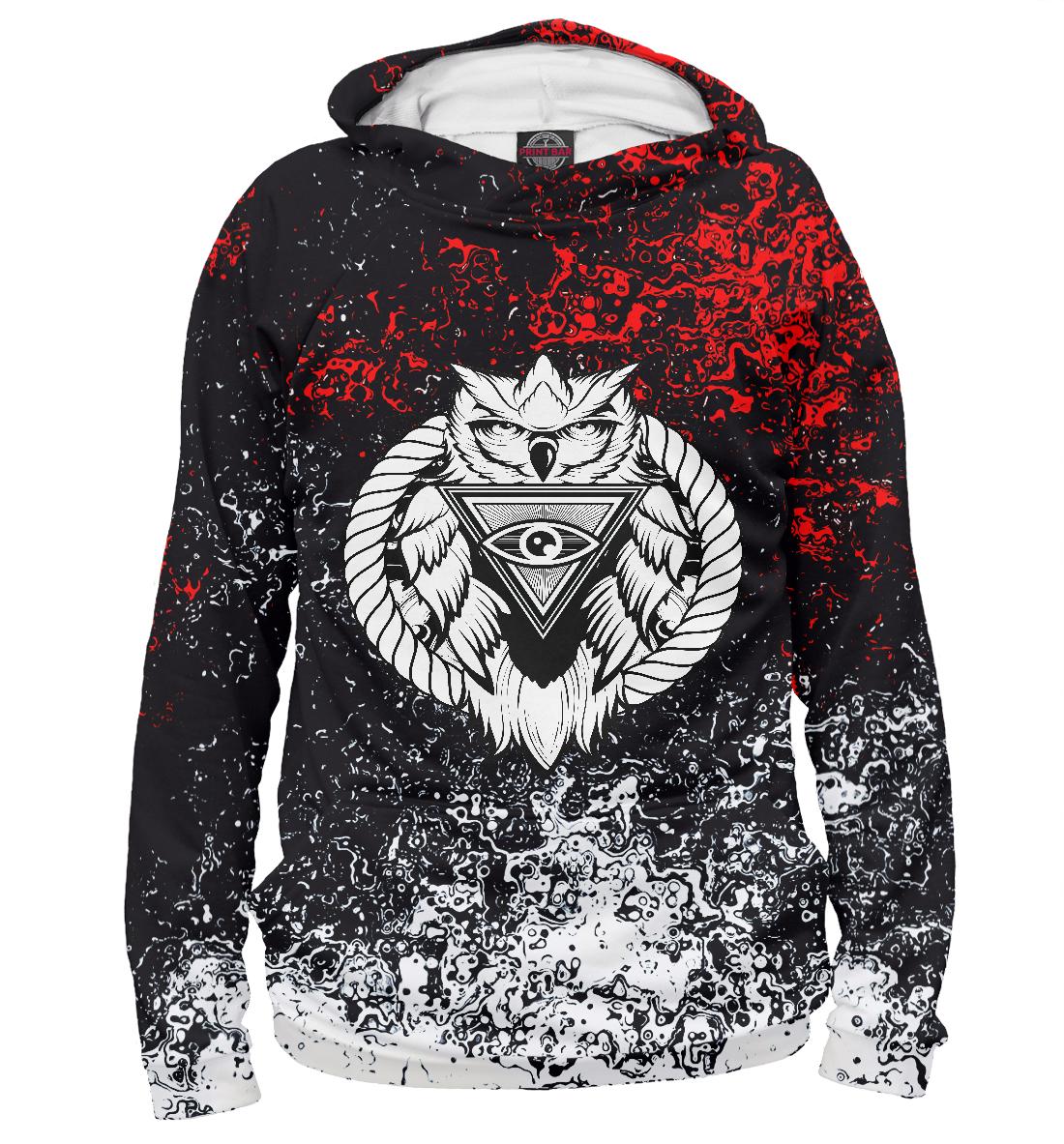 Купить Сова, Printbar, Худи, OWL-860021-hud-2