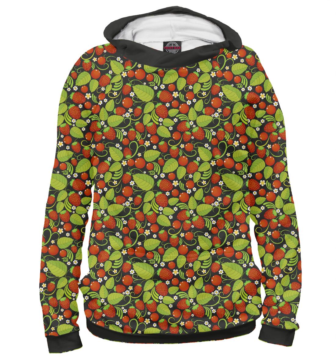 Купить Хохлома (ягоды), Printbar, Худи, ORN-990855-hud-1