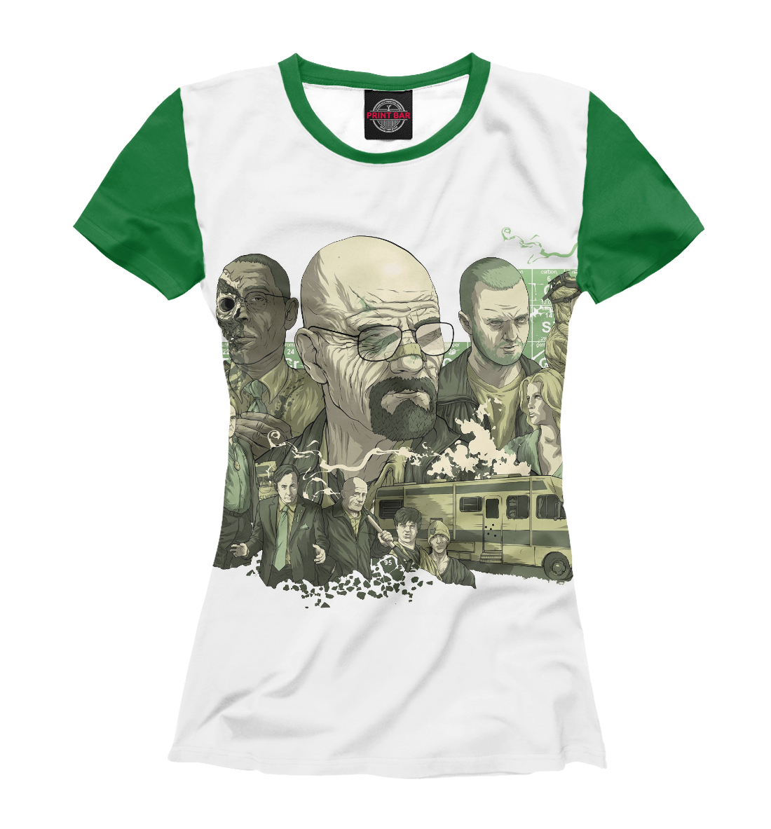 Купить Breaking bad, Printbar, Футболки, VVT-413733-fut-1