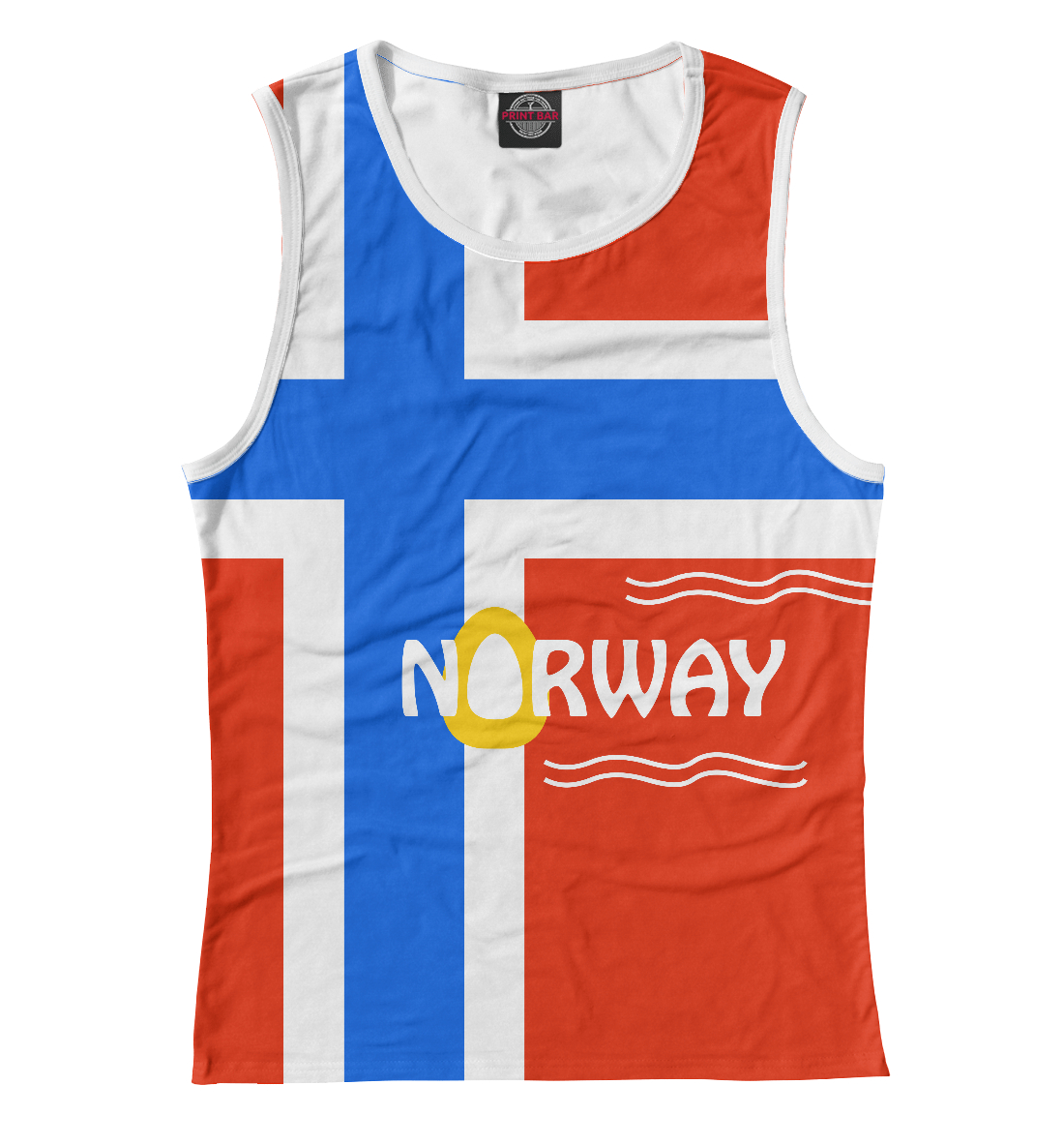 Купить Норвегия, Printbar, Майки, CTS-292150-may-1