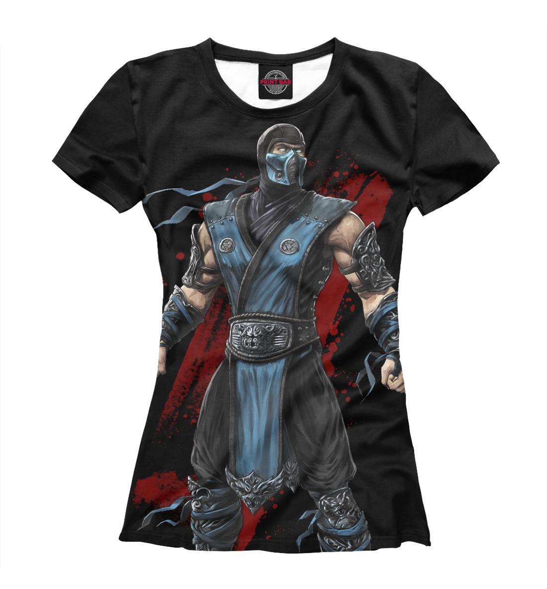 Купить Mortal Kombat: Sub-Zero, Printbar, Футболки, MKB-624401-fut-1