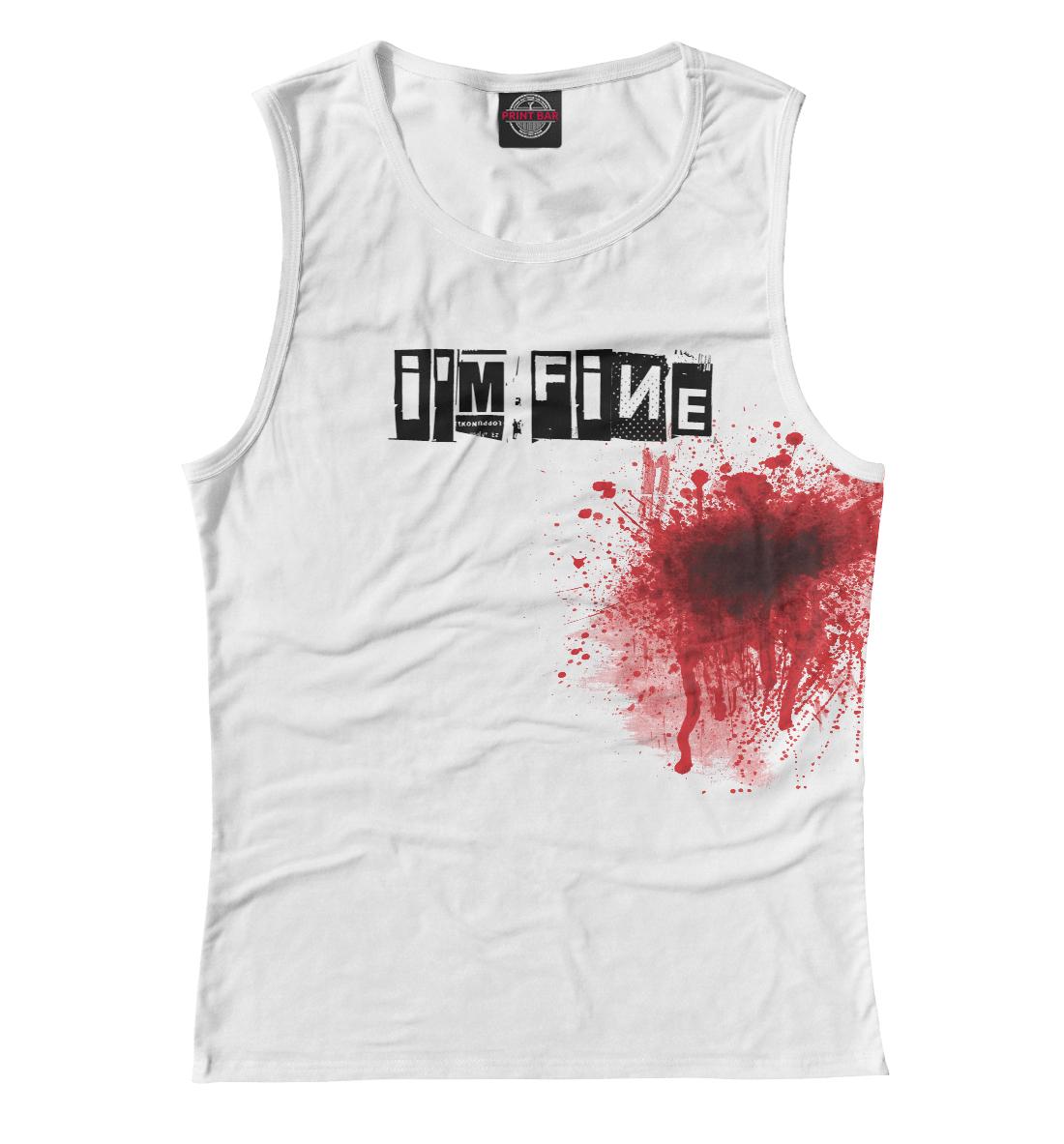 Купить Blood [i'm fine], Printbar, Майки, APD-328783-may-1