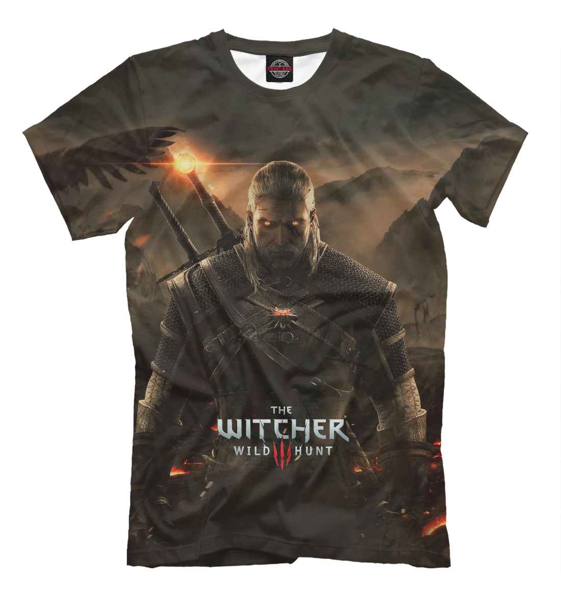 Купить The Witcher: Wild Hunt, Printbar, Футболки, WTR-872747-fut-2