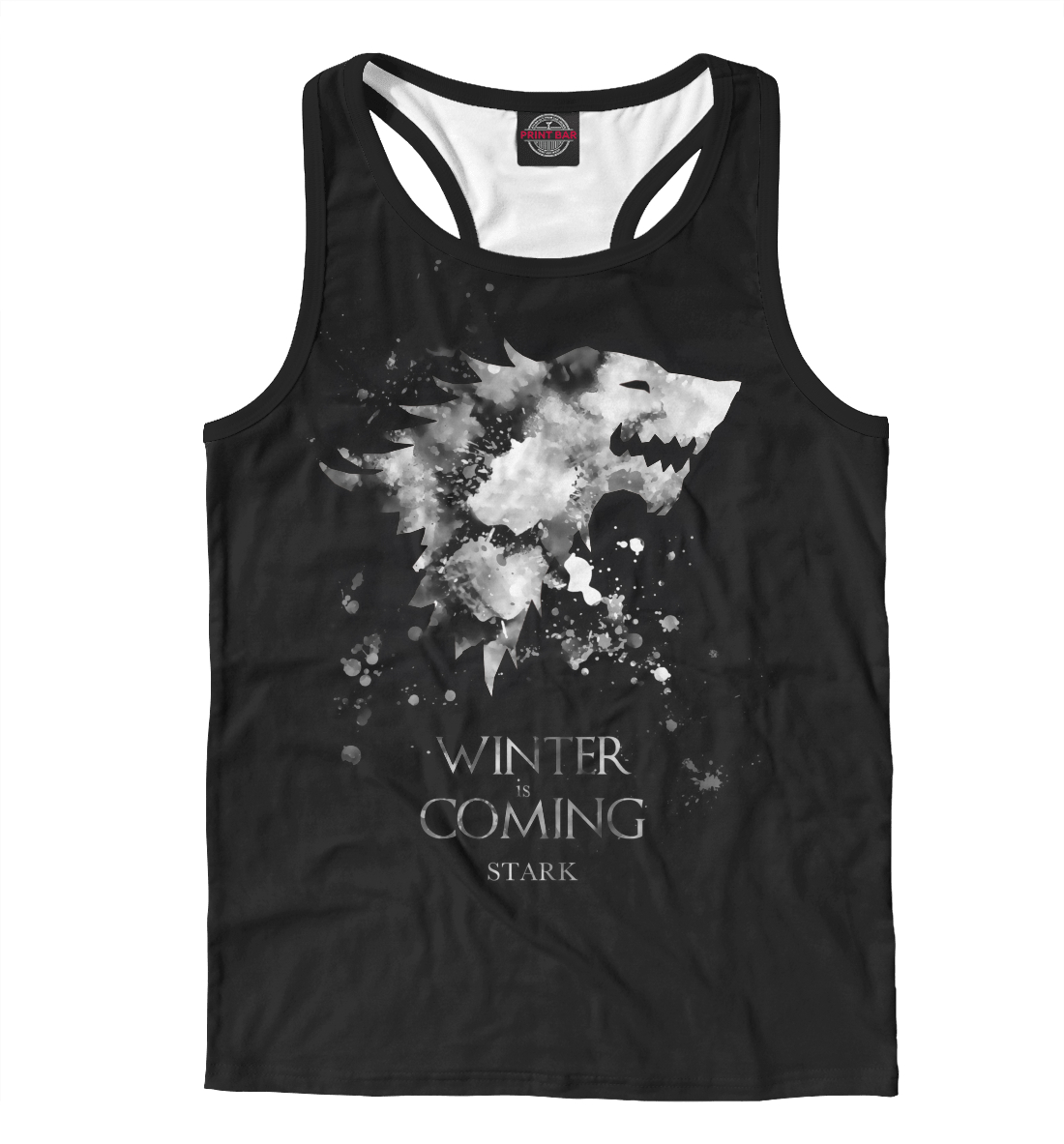 Купить Winter Is Coming, Printbar, Майки борцовки, IGR-527330-mayb-2