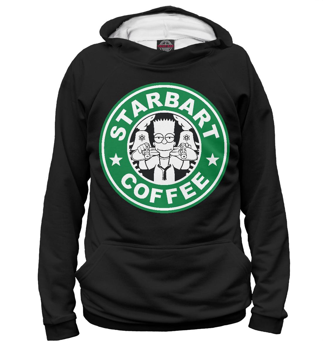 Купить Starbart Coffee, Printbar, Худи, SIM-961595-hud-2