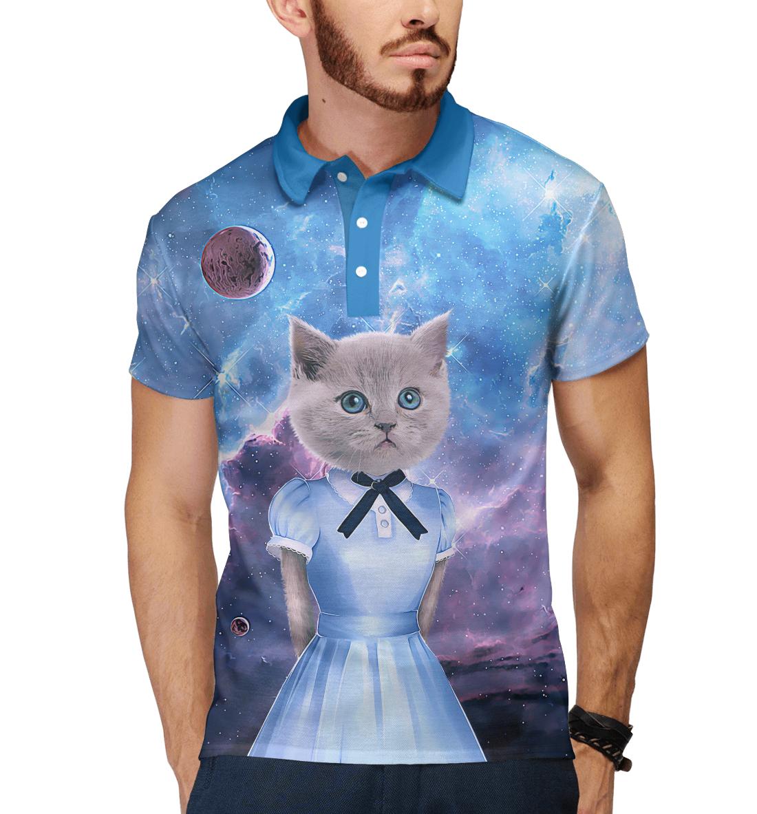 Коты в платьях, Printbar, Поло, CIS-427763-pol-2  - купить со скидкой