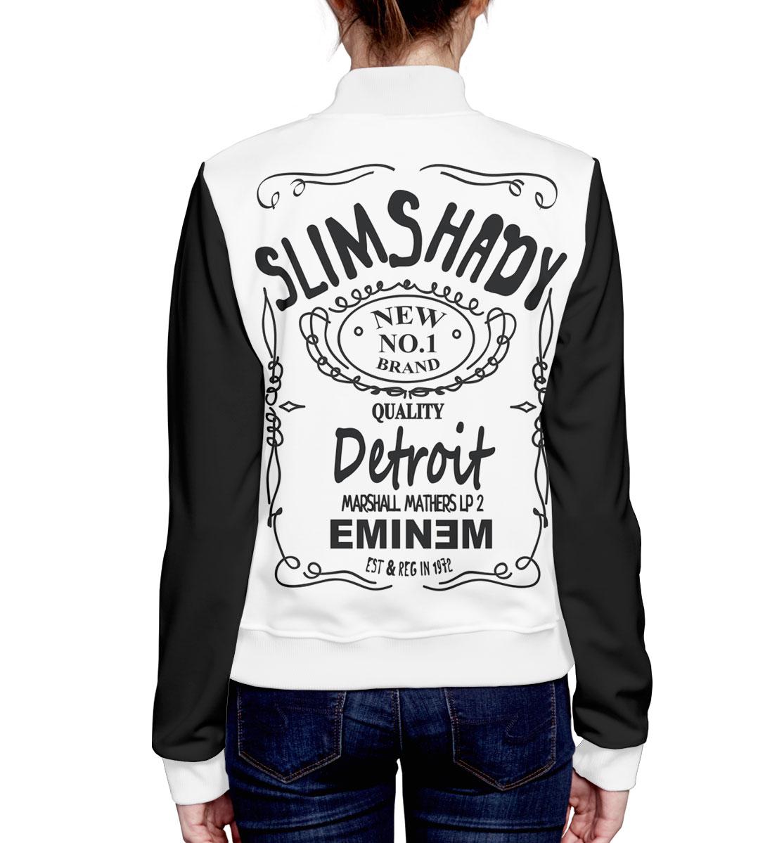 Slim Shady, Printbar, Бомбер, EMI-618619-bmb-1  - купить со скидкой