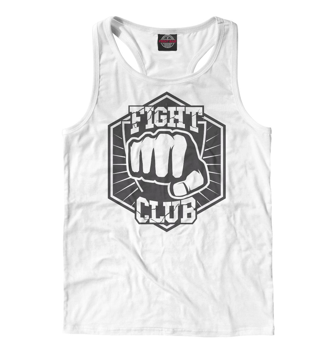 Купить Fight Club, Printbar, Майки борцовки, MNU-106121-mayb-2