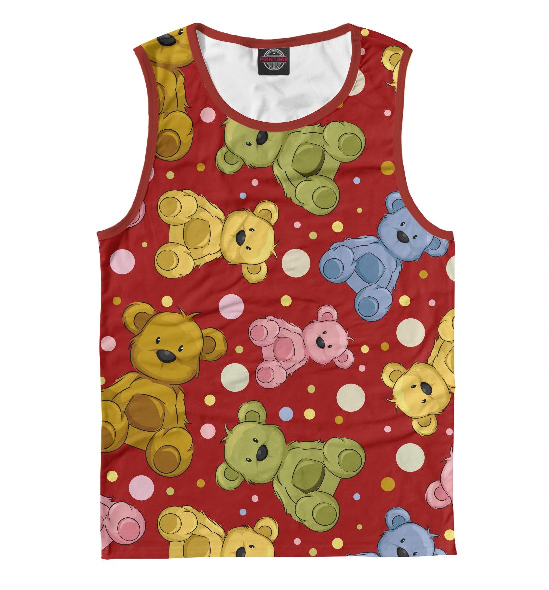 Купить Cute teddy bears, Printbar, Майки, APD-812030-may-2