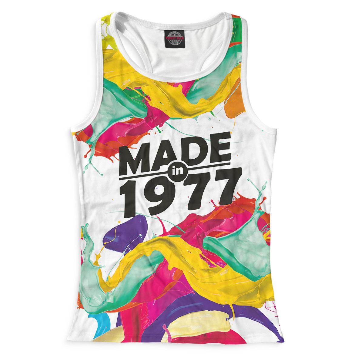 Купить Made in 1977, Printbar, Майки борцовки, DSE-945161-mayb-1