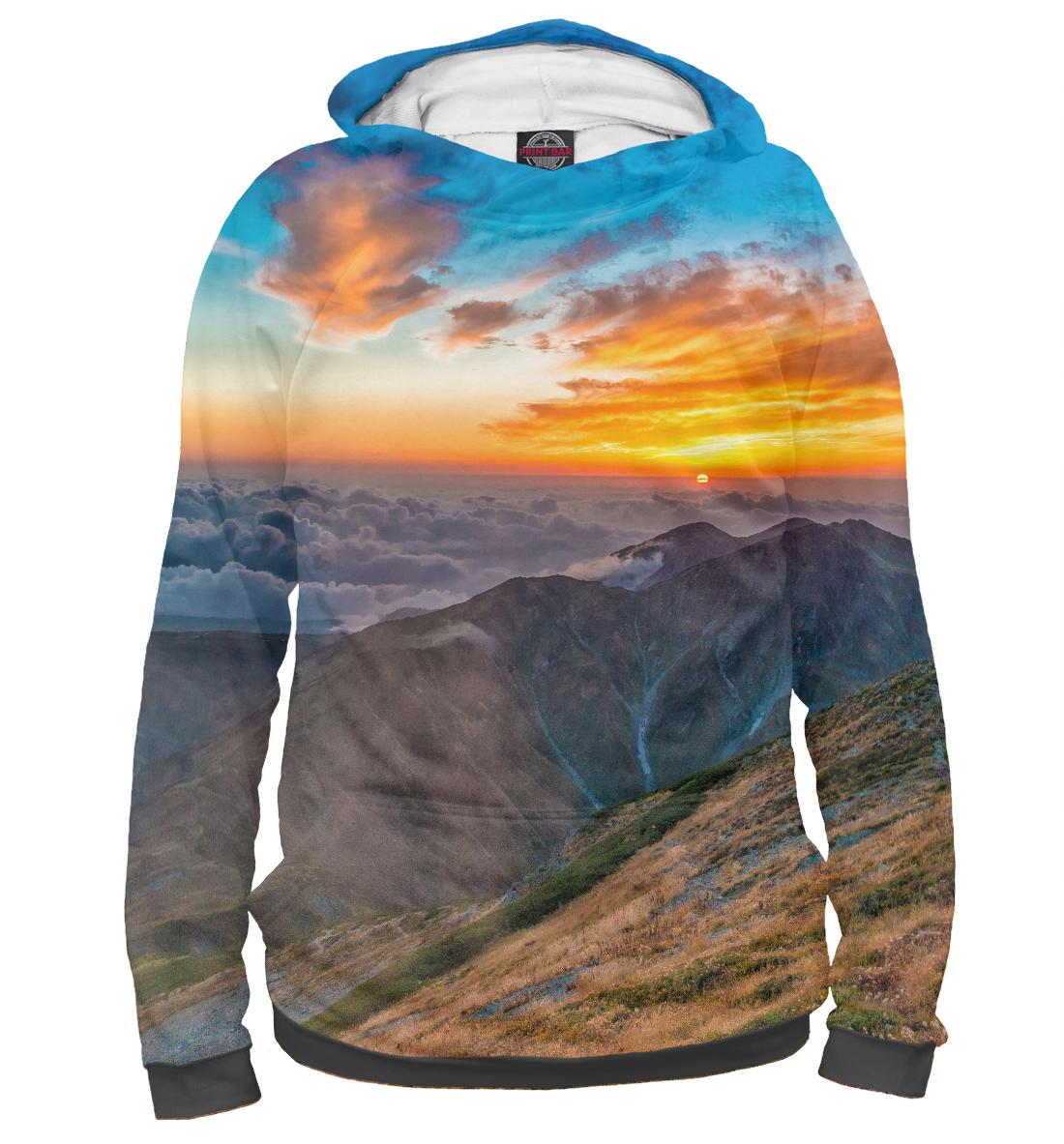 Купить Горный пейзаж, Printbar, Худи, PEY-118816-hud-2