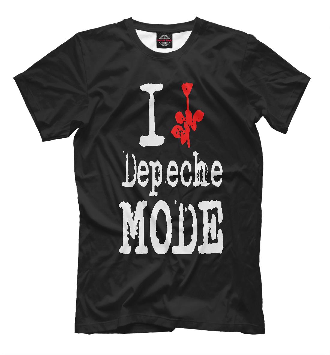 Купить Depeche Mode, Printbar, Футболки, DPM-200544-fut-2