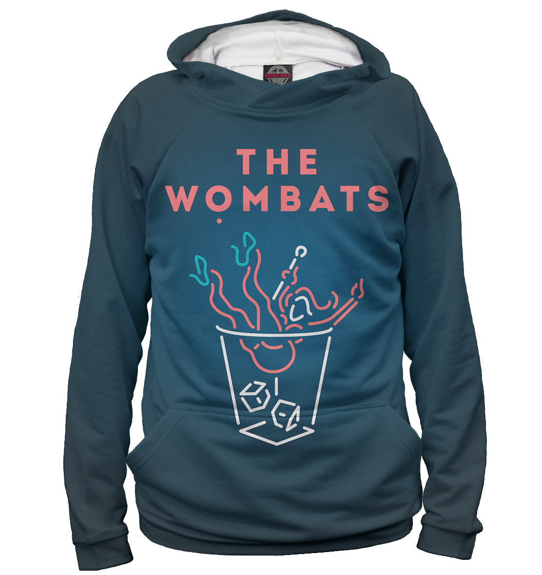 Купить The Wombats, Printbar, Худи, TWM-443681-hud-2