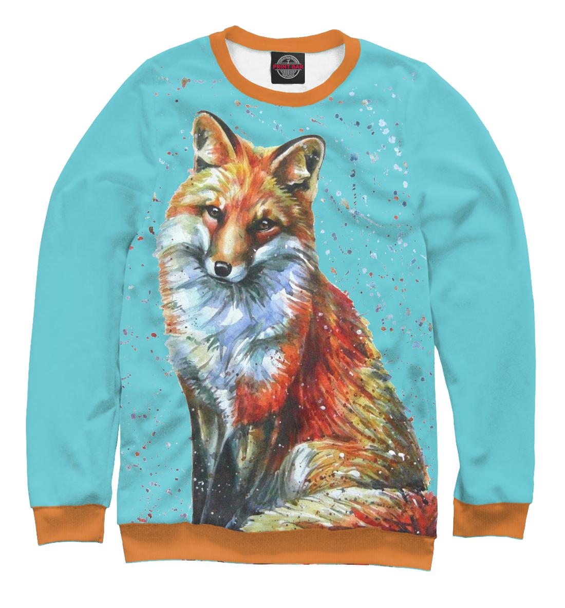Купить Хитрая лиса, Printbar, Свитшоты, FOX-614509-swi-1