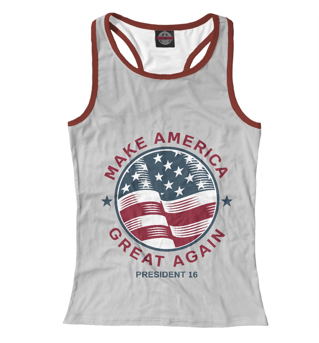 Купить Make America Great Again, Printbar, Майки борцовки, CTS-164412-mayb-1