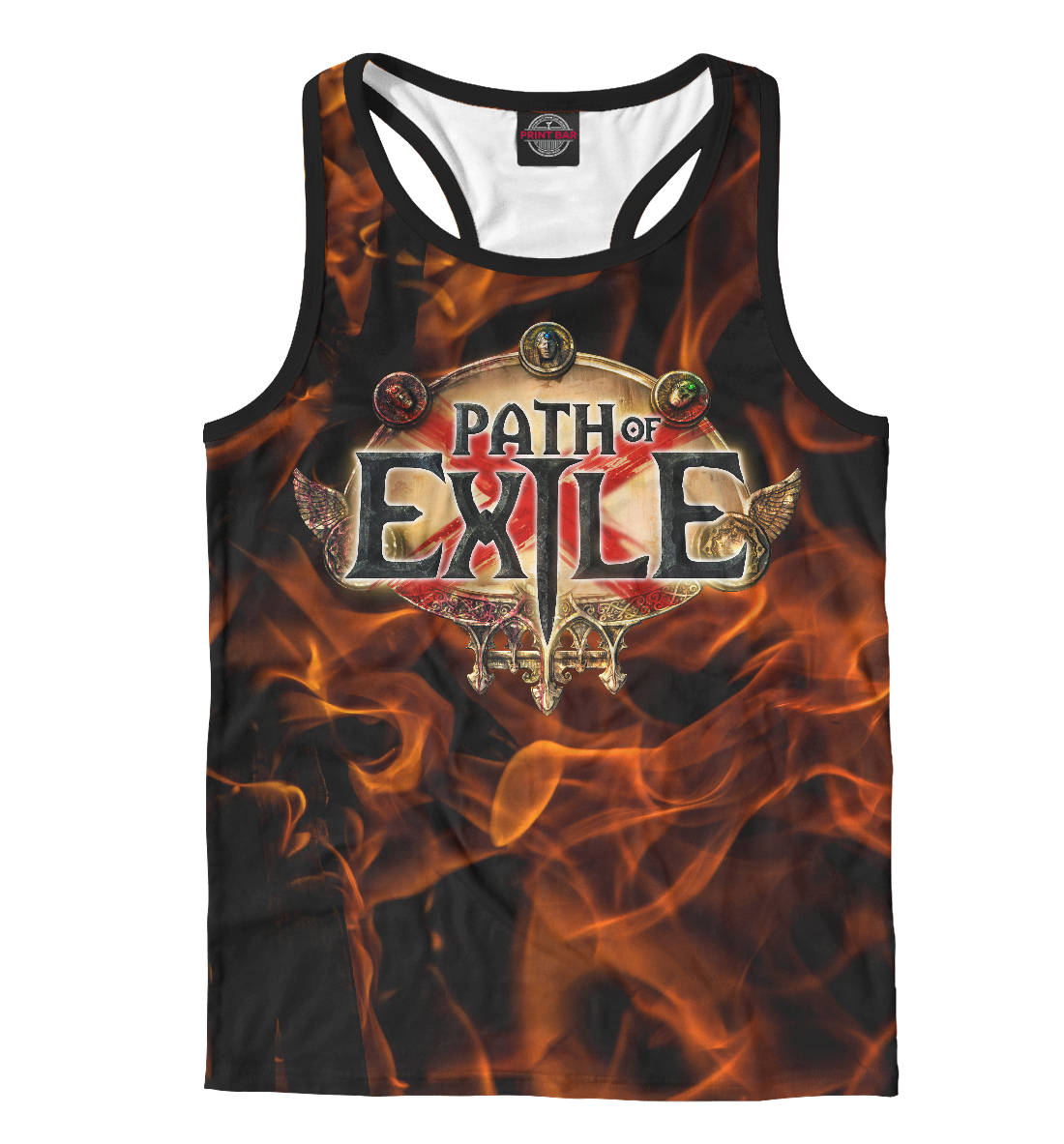 Купить Path of Exile, Printbar, Майки борцовки, RPG-277424-mayb-2