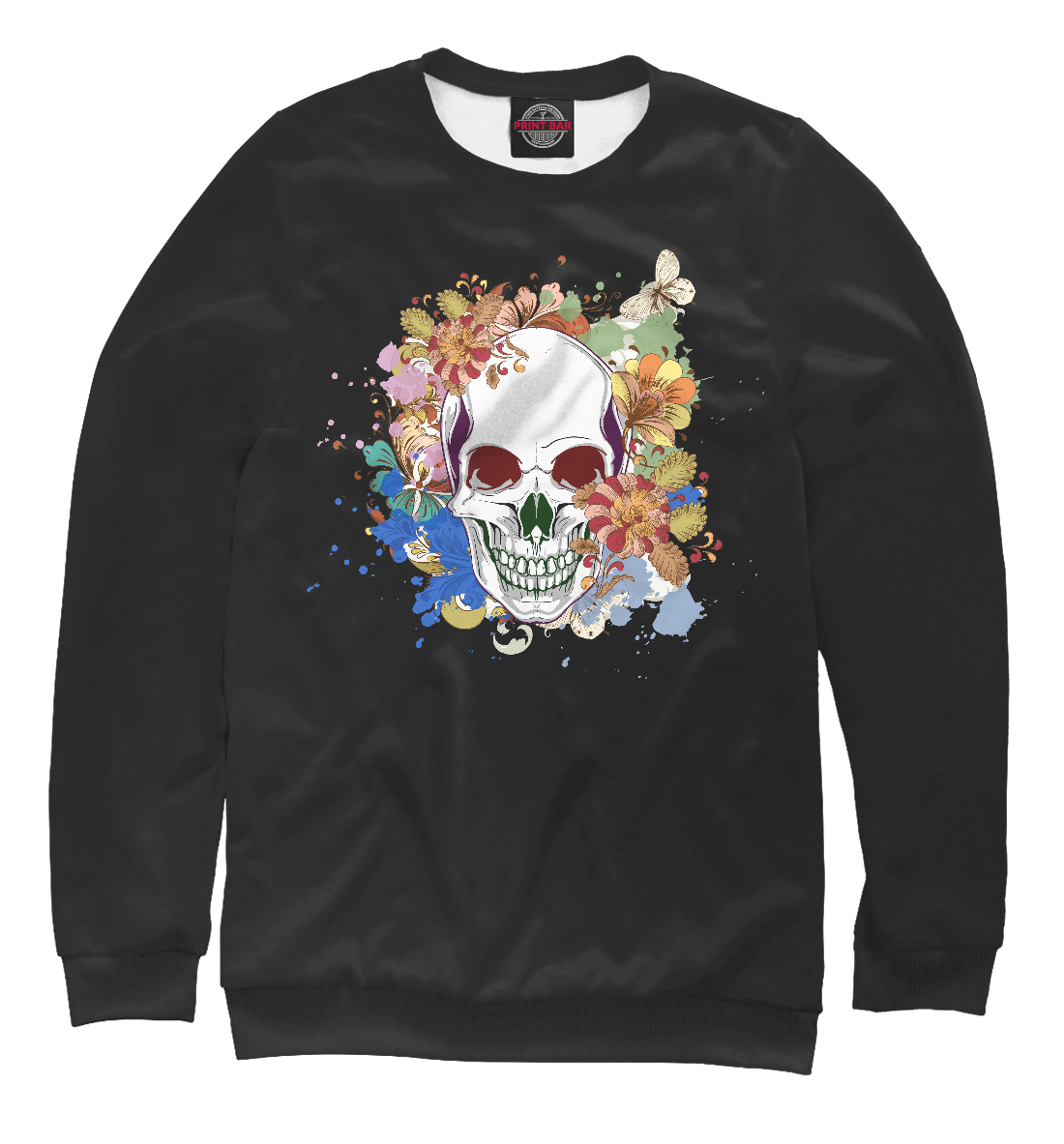 Skull With Florals
