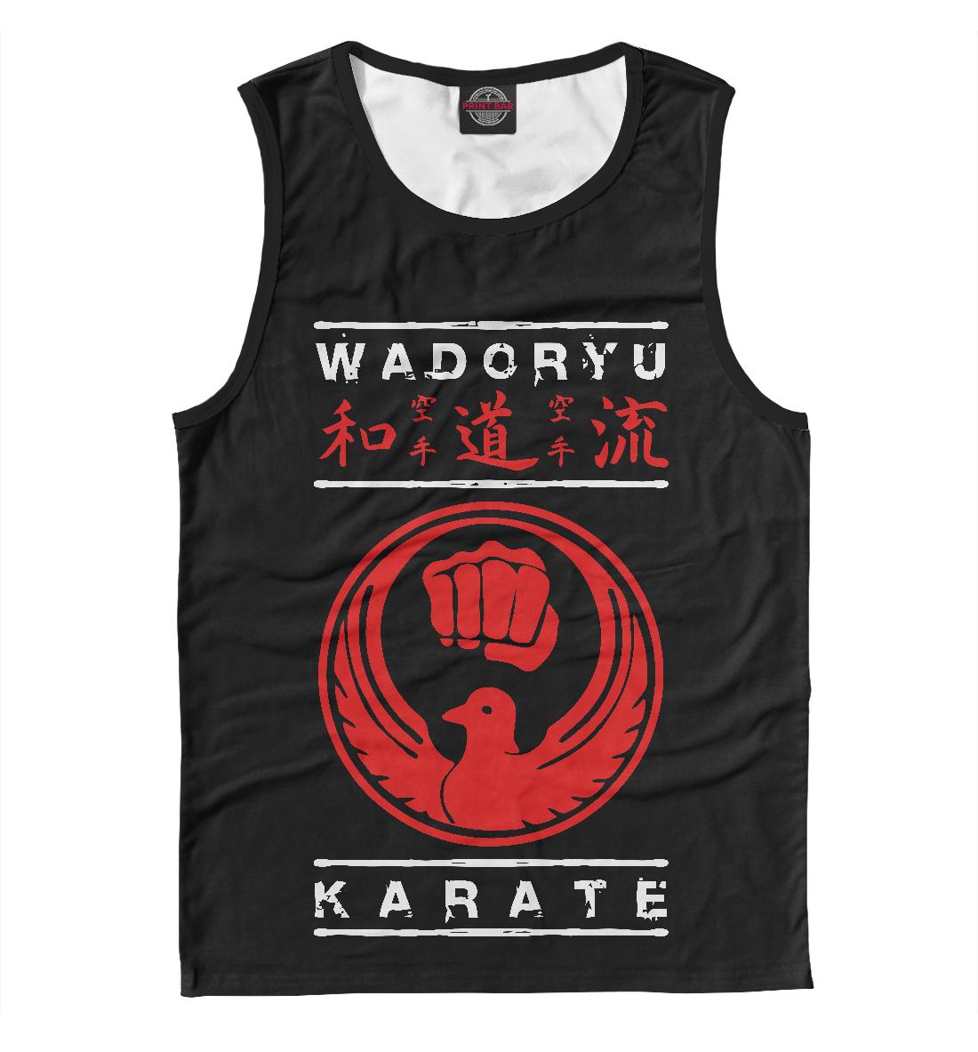 Купить Wadoryu Karate, Printbar, Майки, EDI-612055-may-2