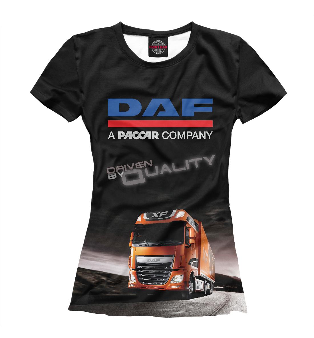 Купить DAF - Driven By Quality, Printbar, Футболки, GRZ-912734-fut-1
