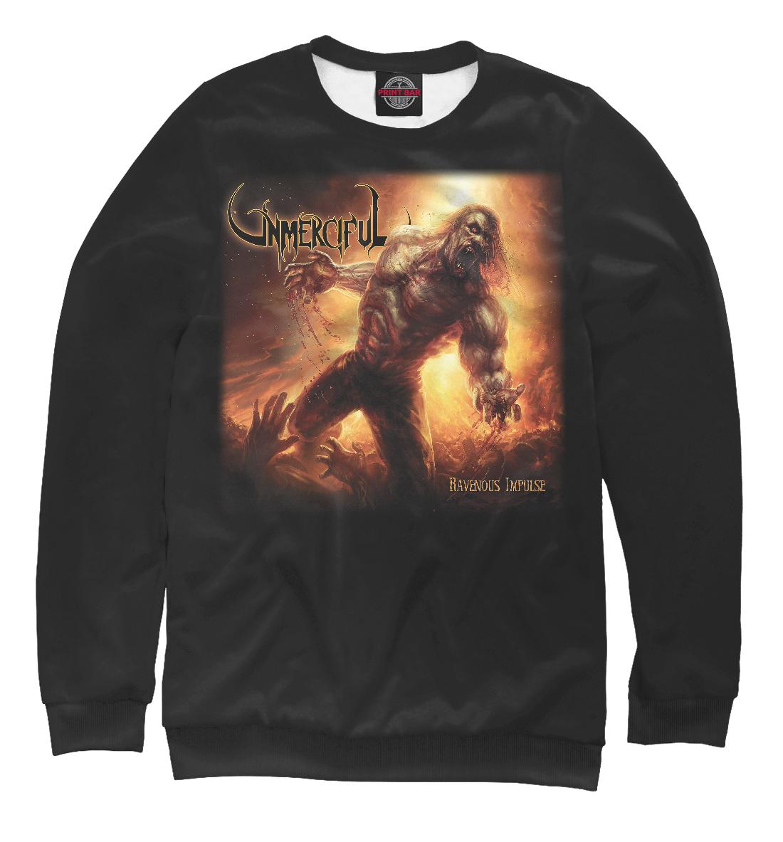 Купить Unmerciful - death metal band, Printbar, Свитшоты, MZK-277570-swi-2