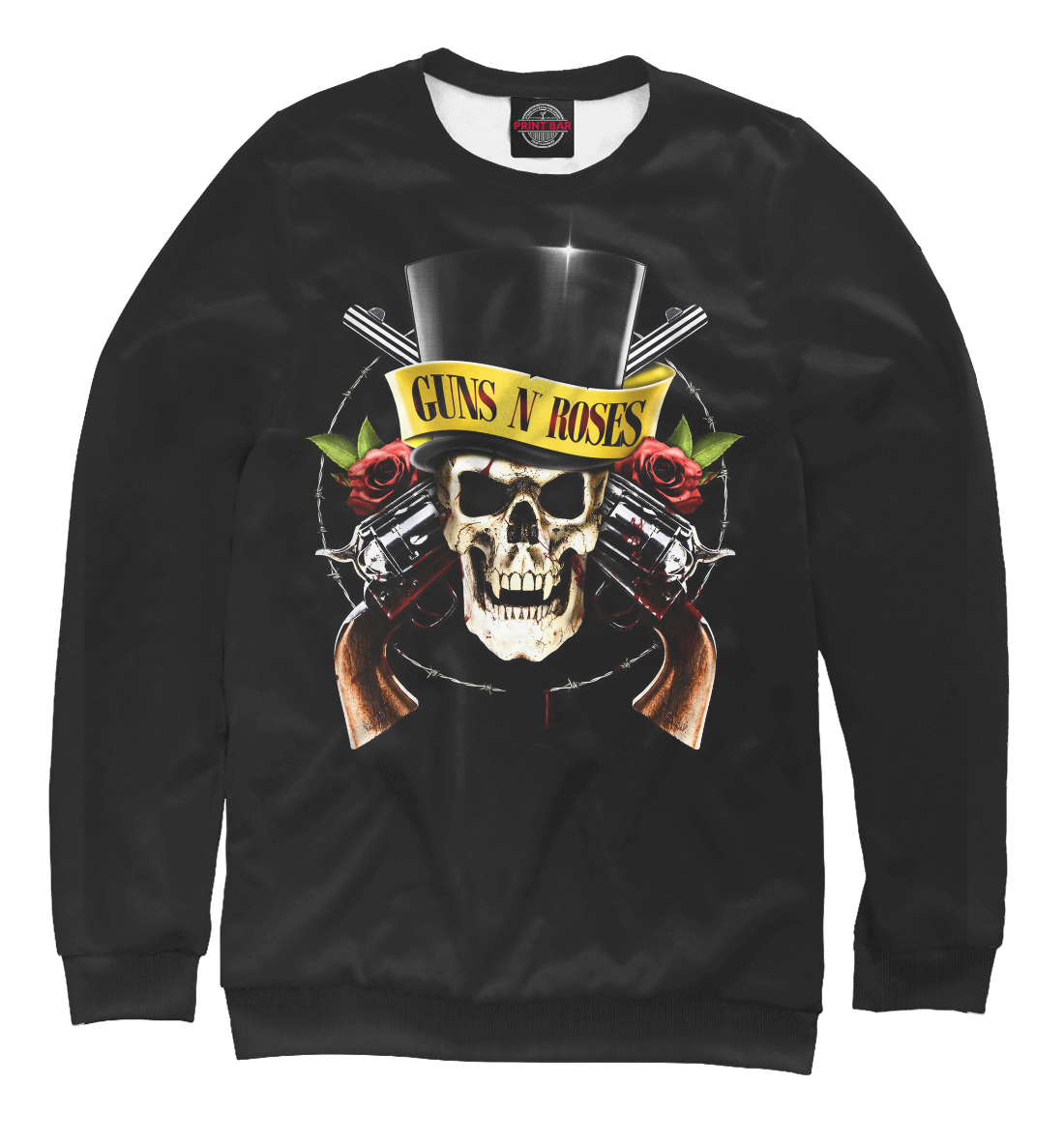 Купить Guns N' Roses, Printbar, Свитшоты, MZK-724489-swi-2