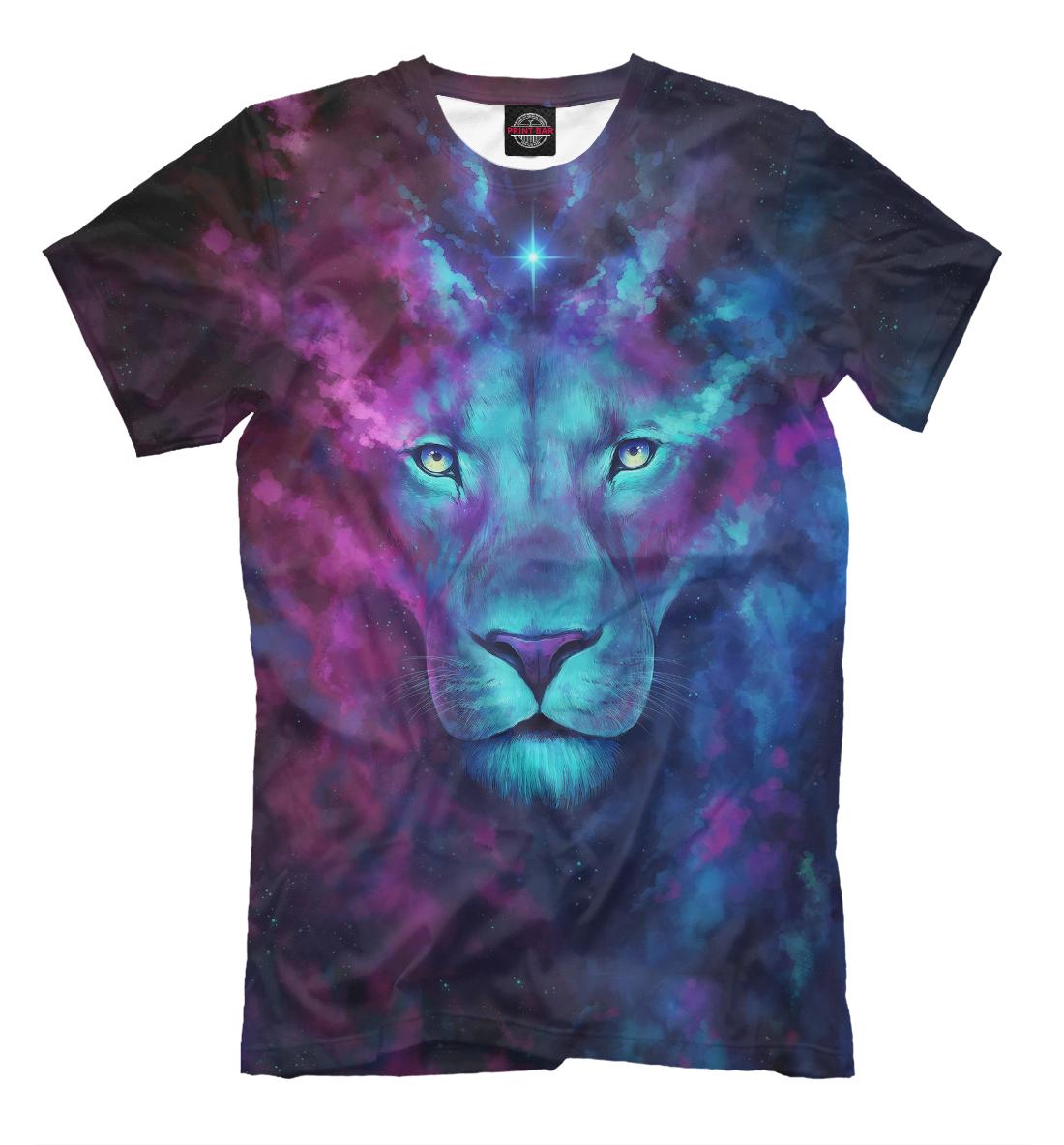 Купить Space Lion, Printbar, Футболки, HIS-361561-fut-2