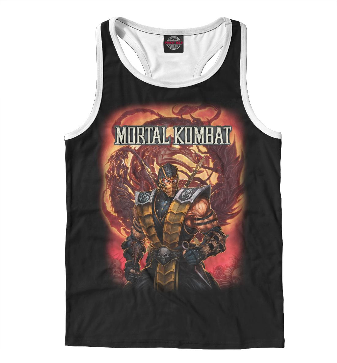 Купить Mortal Kombat, Printbar, Майки борцовки, MKB-751921-mayb-2