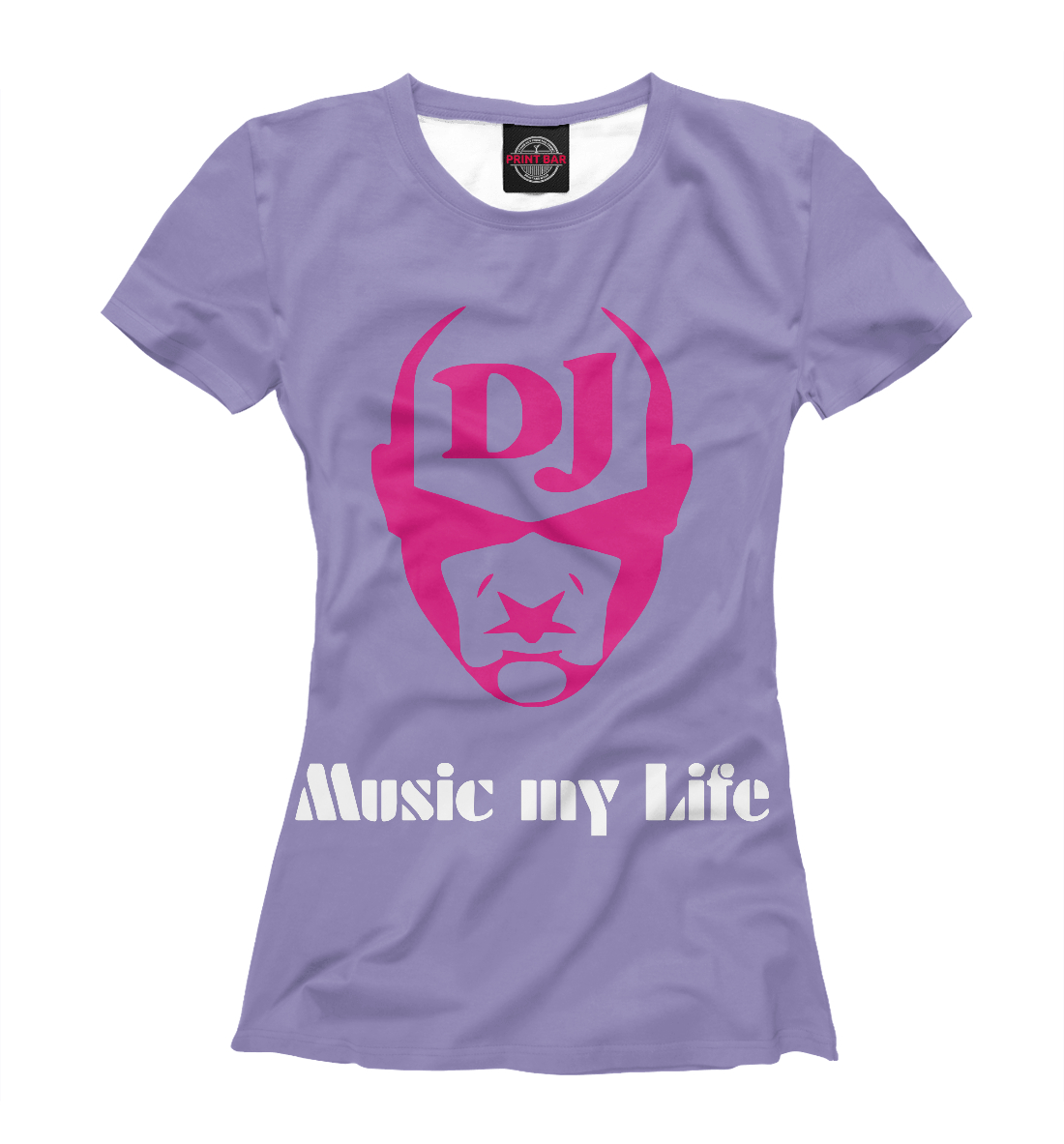Купить Music my life, Printbar, Футболки, APD-344642-fut-1