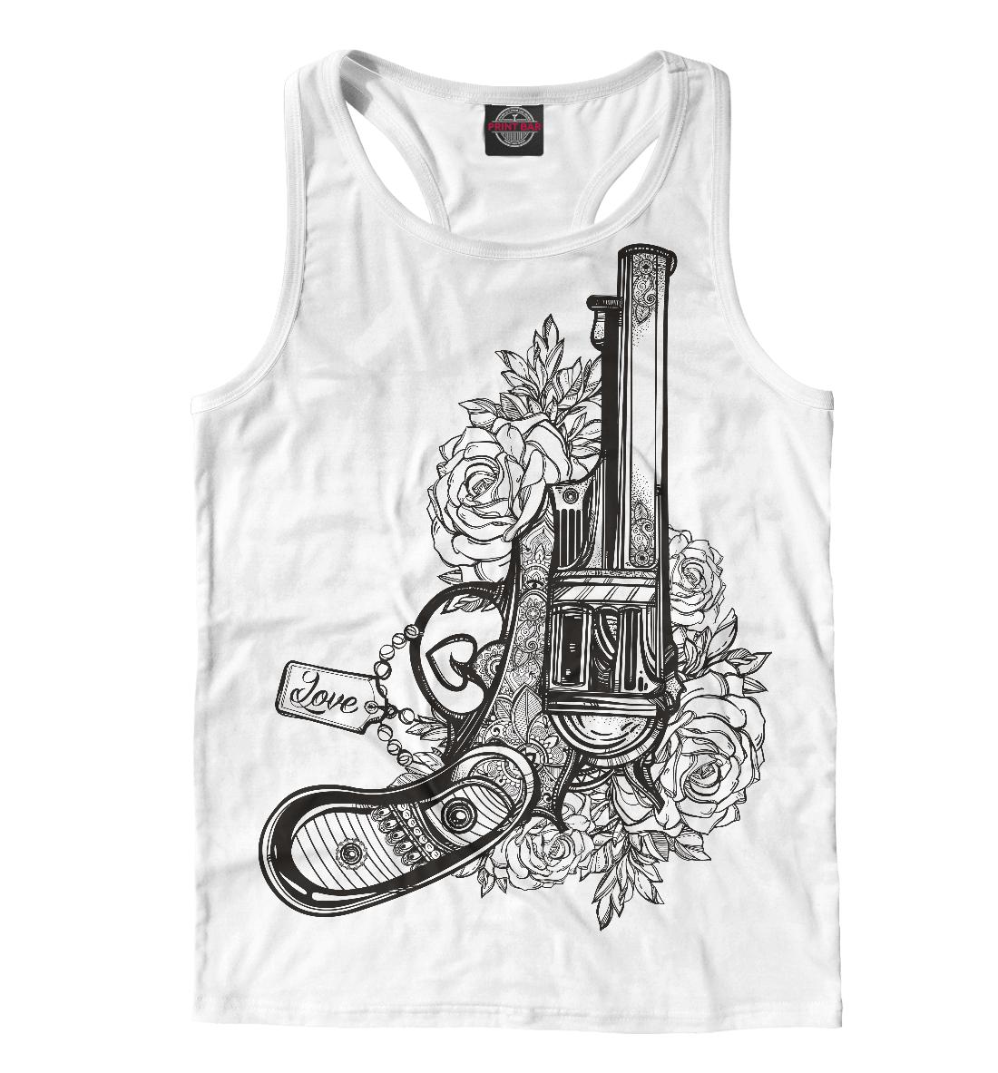 Купить Пистолет, Printbar, Майки борцовки, HIP-750717-mayb-2