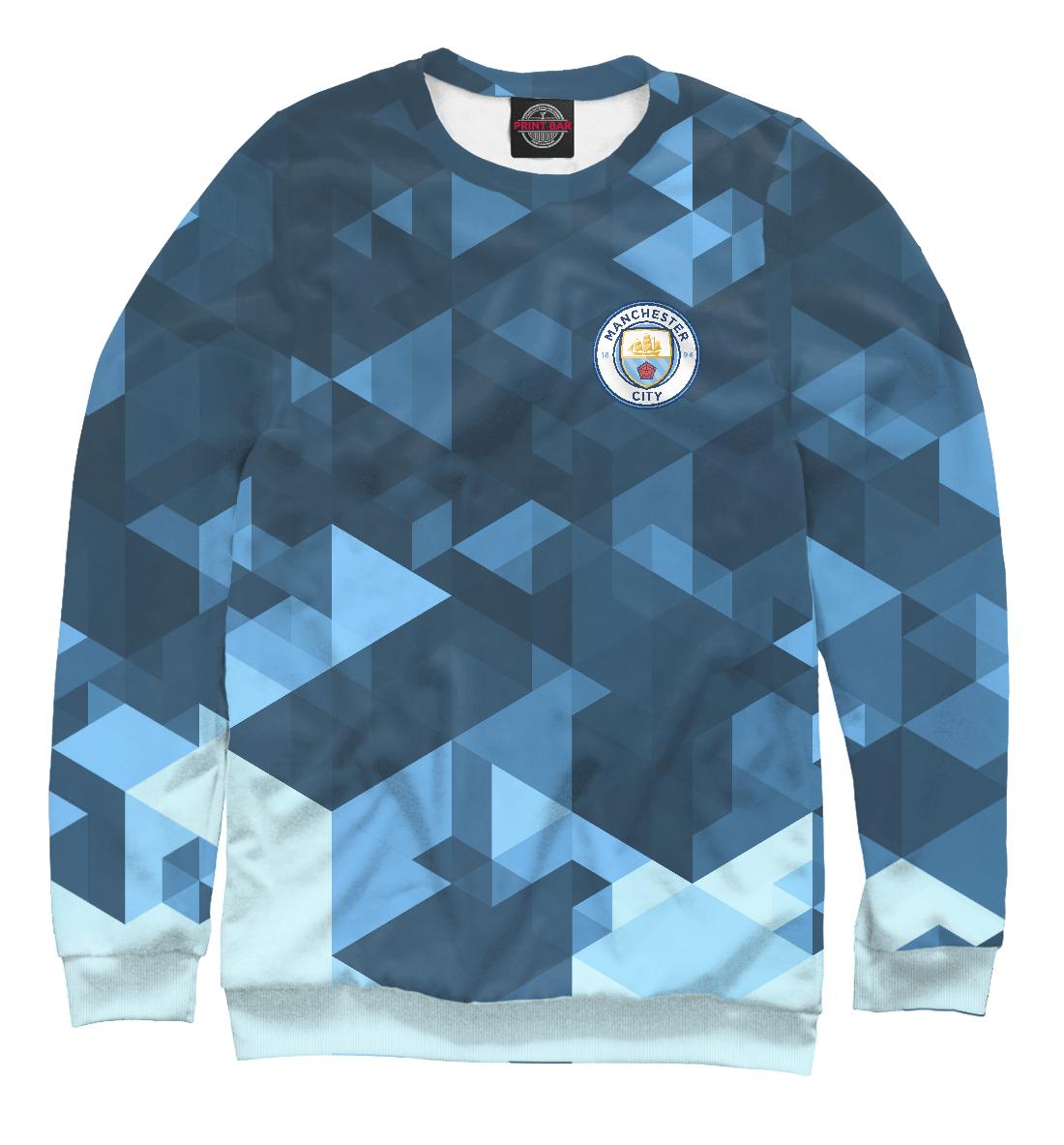 Купить Manchester City Abstract, Printbar, Свитшоты, MNC-929386-swi-1