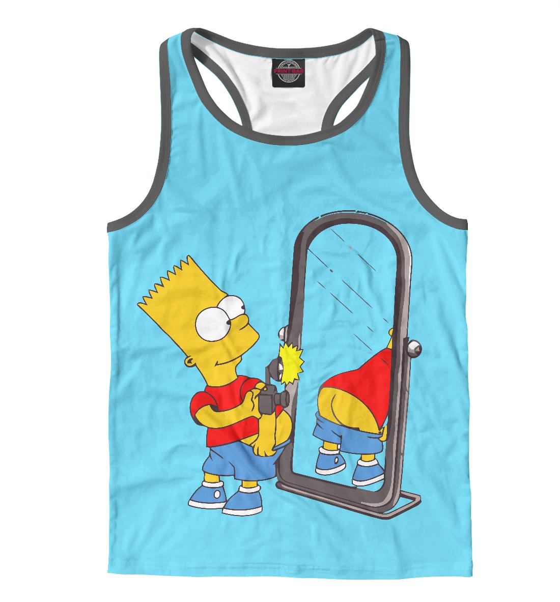 Купить Барт Симпсон, Printbar, Майки борцовки, SIM-564542-mayb-2