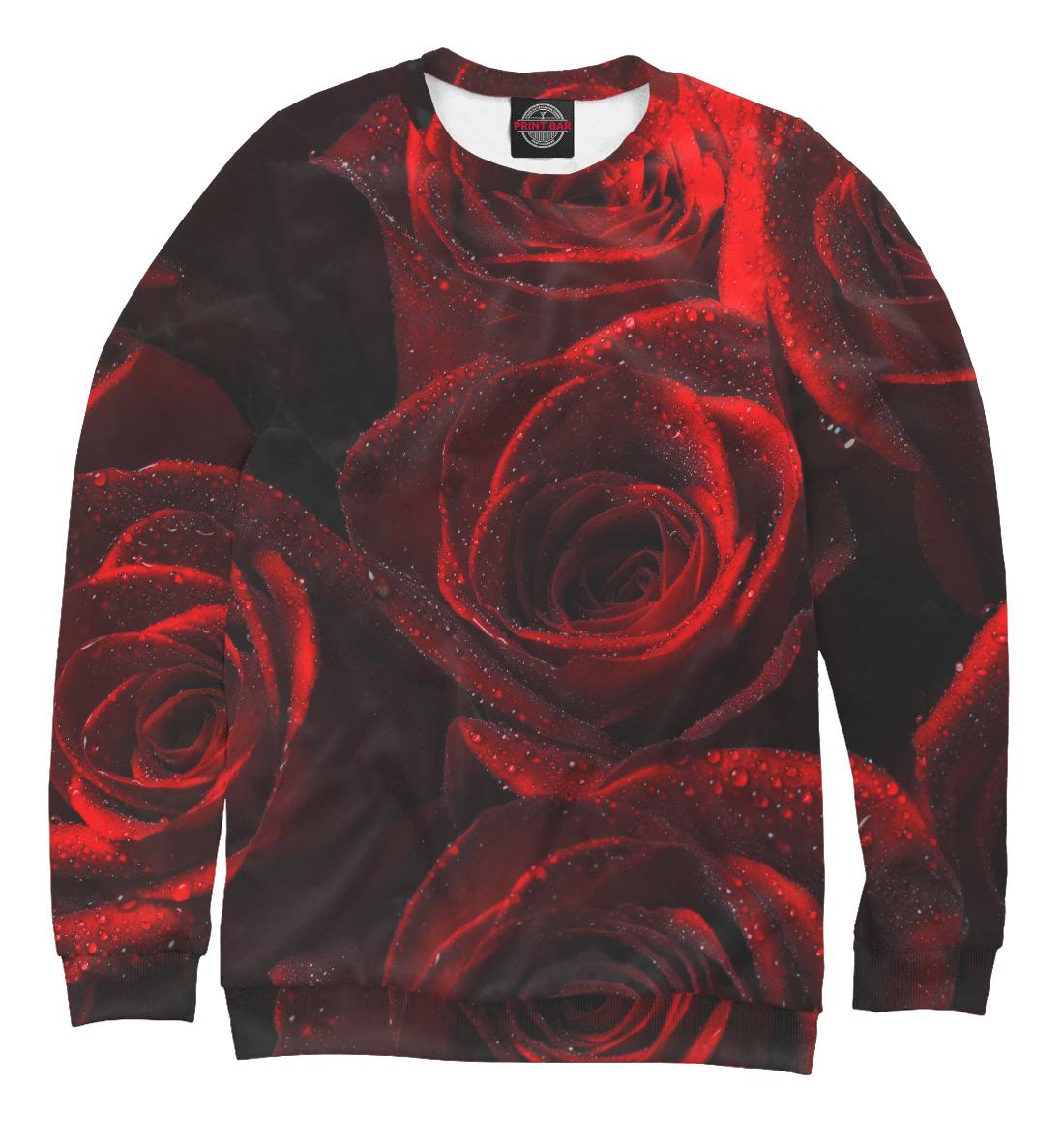 Купить Красные розы, Printbar, Свитшоты, CVE-448630-swi-1