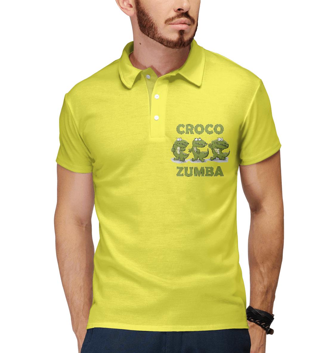 Купить Croco zumba, Printbar, Поло, FIT-973712-pol-2