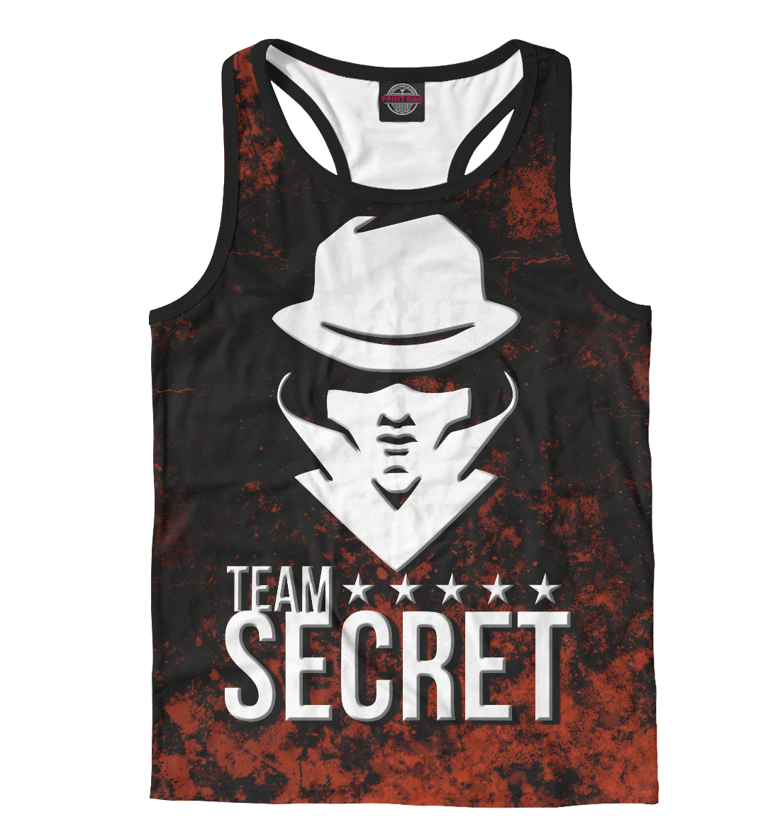 Купить Team Secret, Printbar, Майки борцовки, CBS-889792-mayb-2