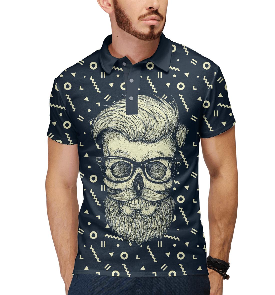 Купить Hipster is Dead, Printbar, Поло, HIP-550127-pol-2