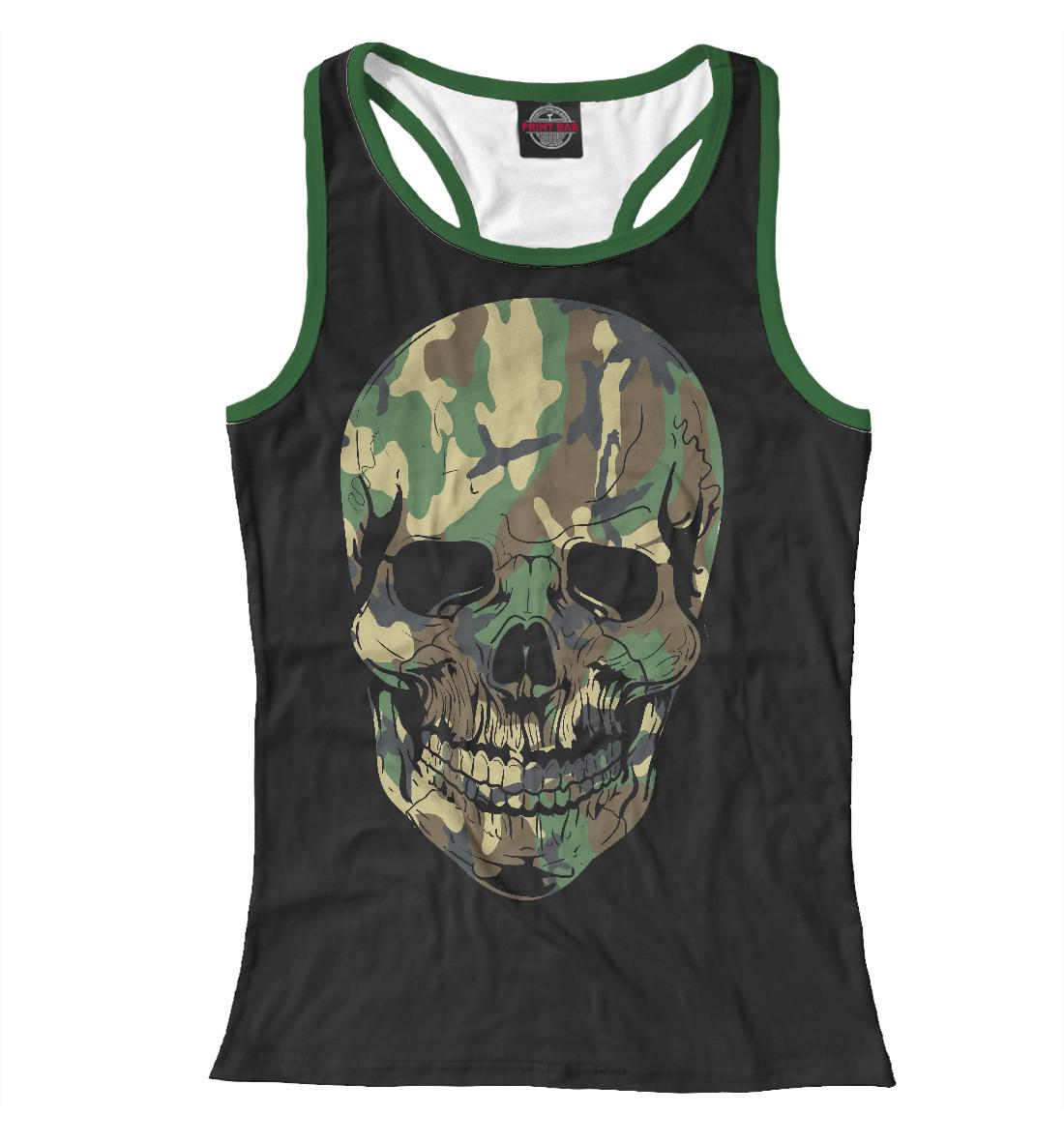 Купить Камуфляжный череп, Printbar, Майки борцовки, HIP-723031-mayb-1