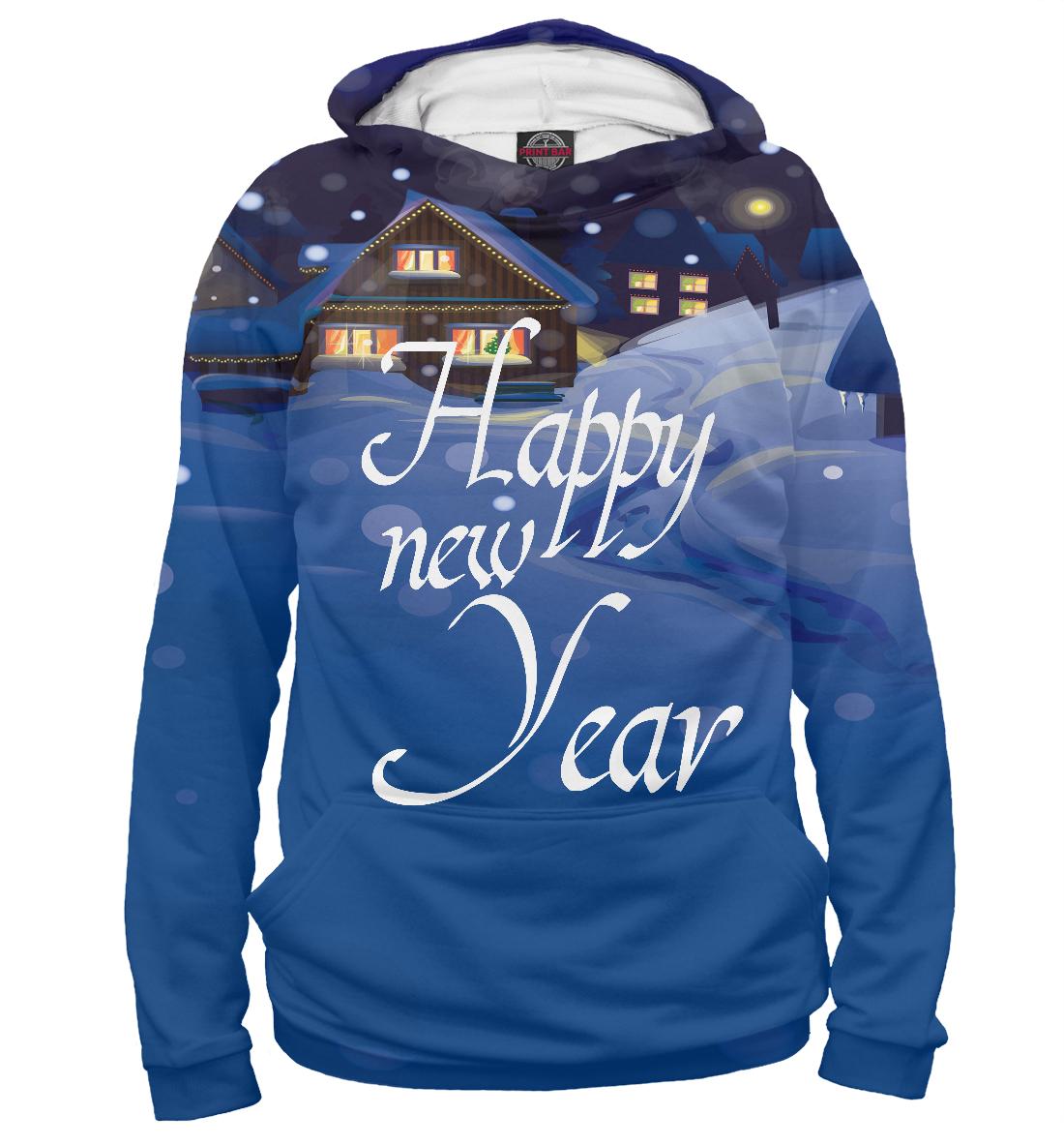 Купить Happy new Year, Printbar, Худи, NOV-609866-hud-2