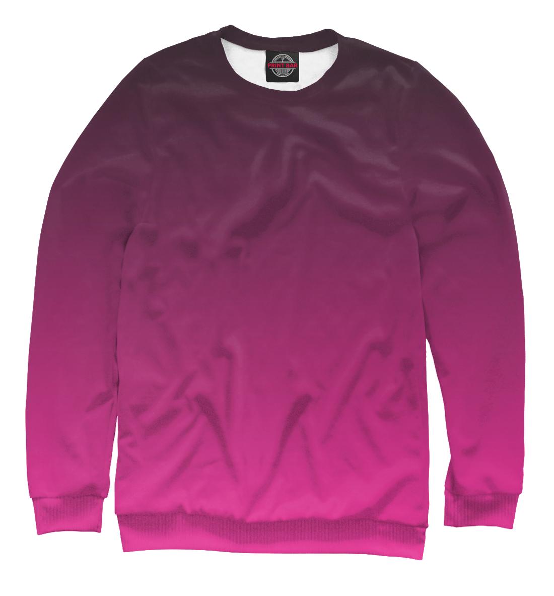 Купить Градиент Розовый в Черный, Printbar, Свитшоты, CLR-560218-swi-1
