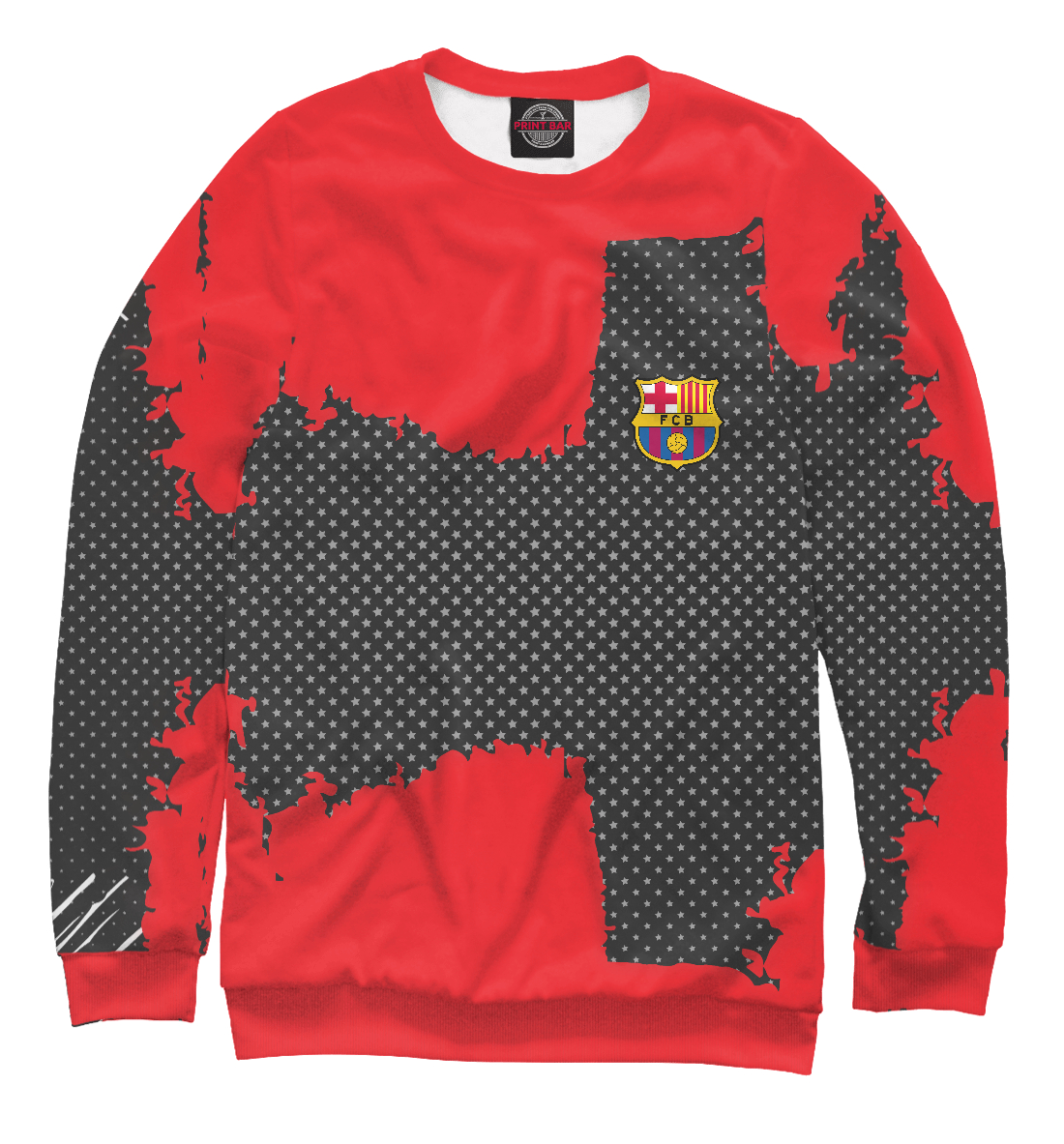 Купить Barcelona sport collection, Printbar, Свитшоты, BAR-810164-swi-2