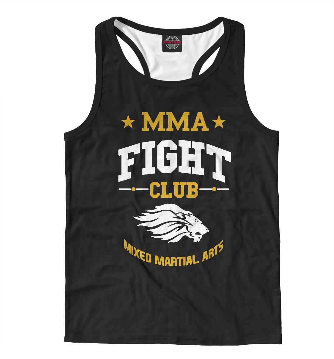 Купить MMA Fight Club, Printbar, Майки борцовки, MNU-718522-mayb-2