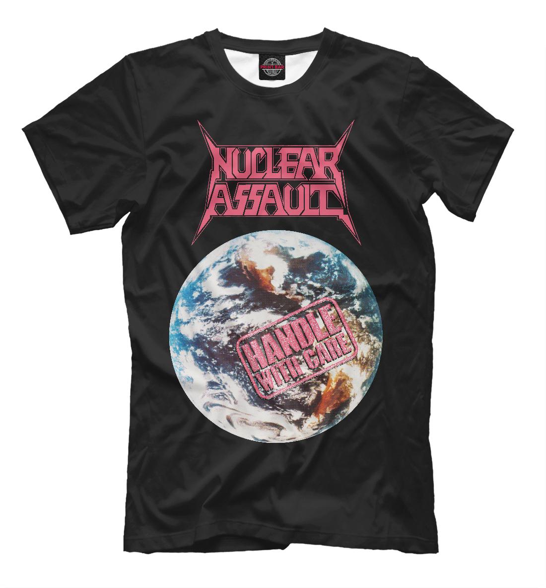 Купить Nuclear Assault: Handle With Care, Printbar, Футболки, MZK-471484-fut-2