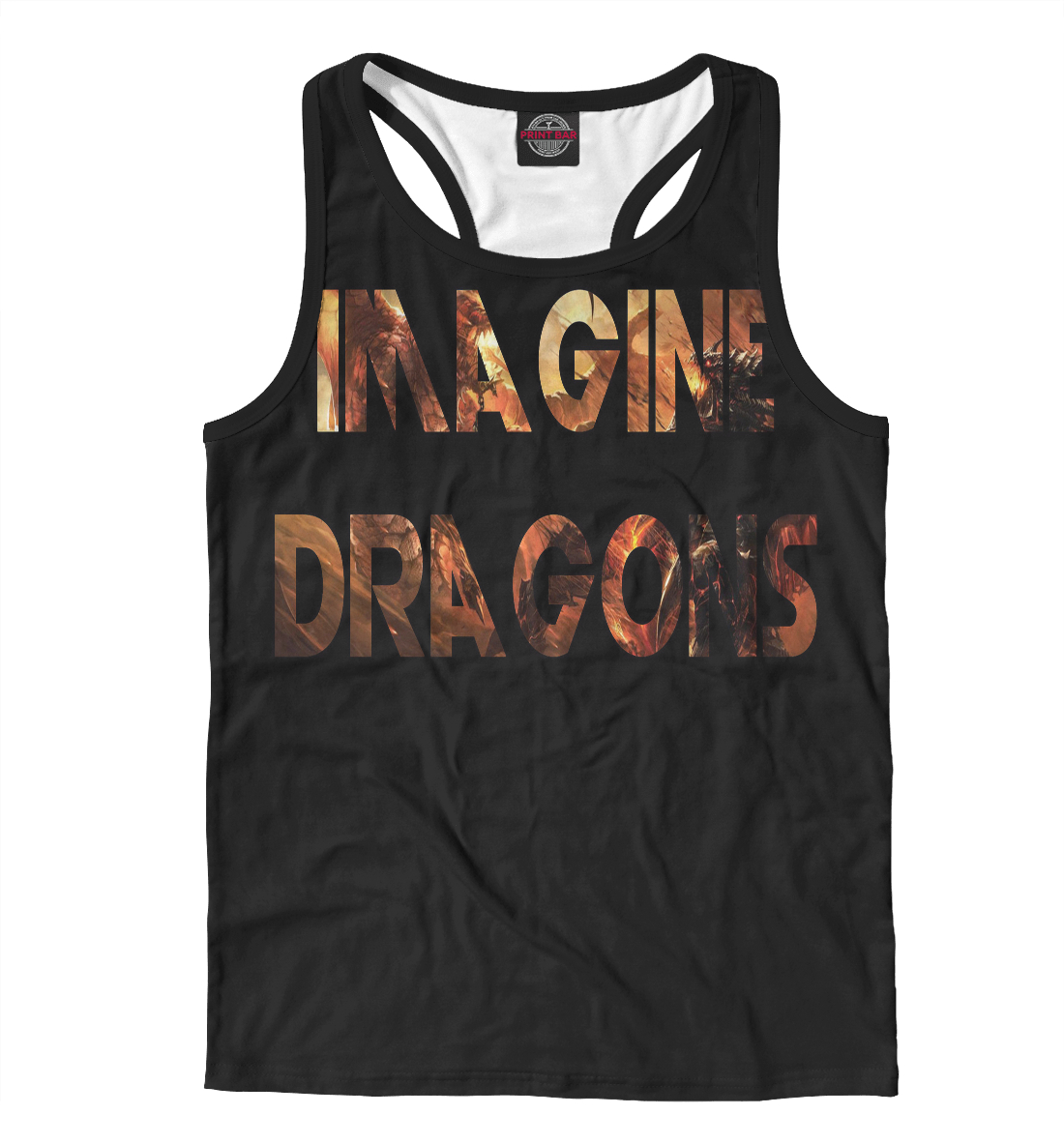Купить Imagine Dragons, Printbar, Майки борцовки, IMA-426714-mayb-2