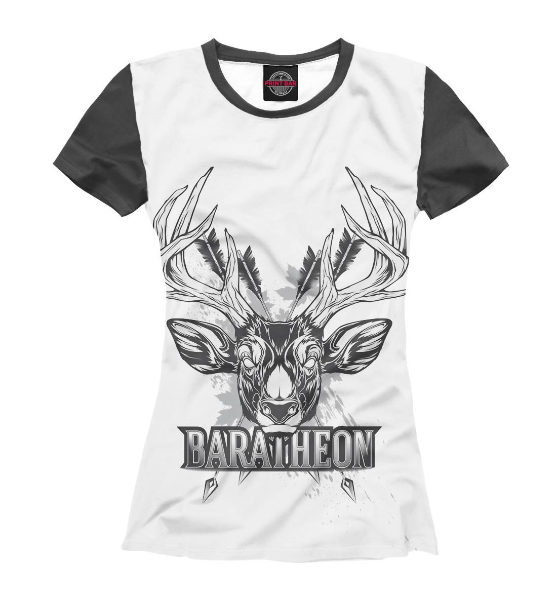 Купить Game of Thrones baratheon, Printbar, Футболки, IGR-412238-fut-1