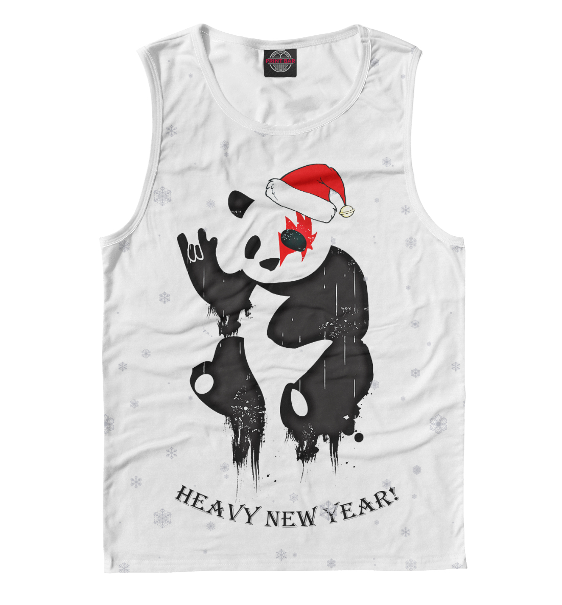 Купить Heavy New Year, Printbar, Майки, NOV-832345-may-2