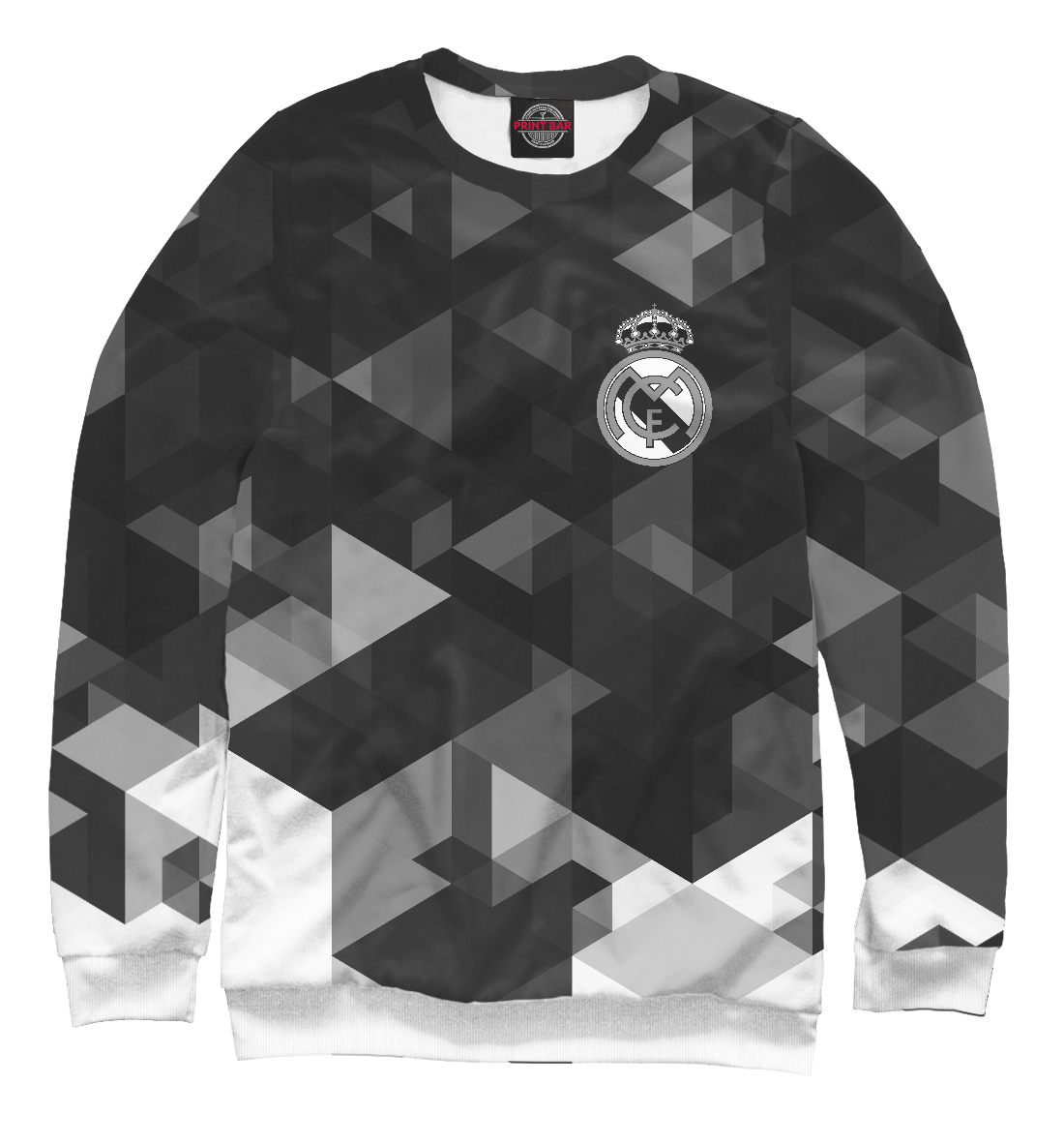 Купить Real Madrid Abstract Collection, Printbar, Свитшоты, REA-765276-swi-1